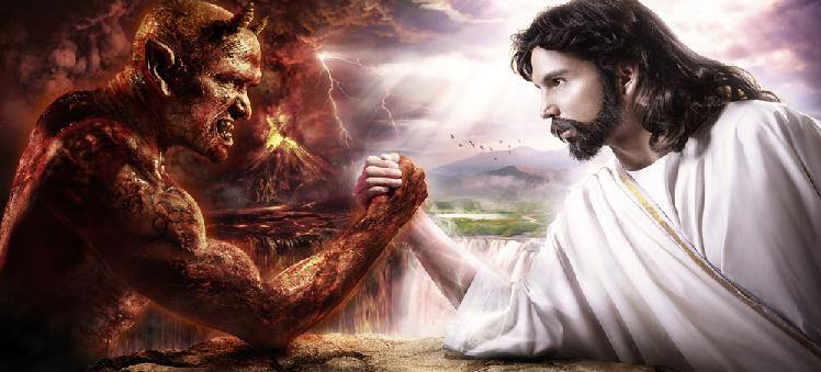 silowanie jezus diabel